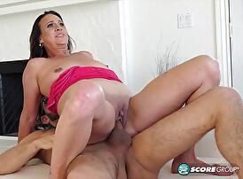 Ass-fucked and loving it